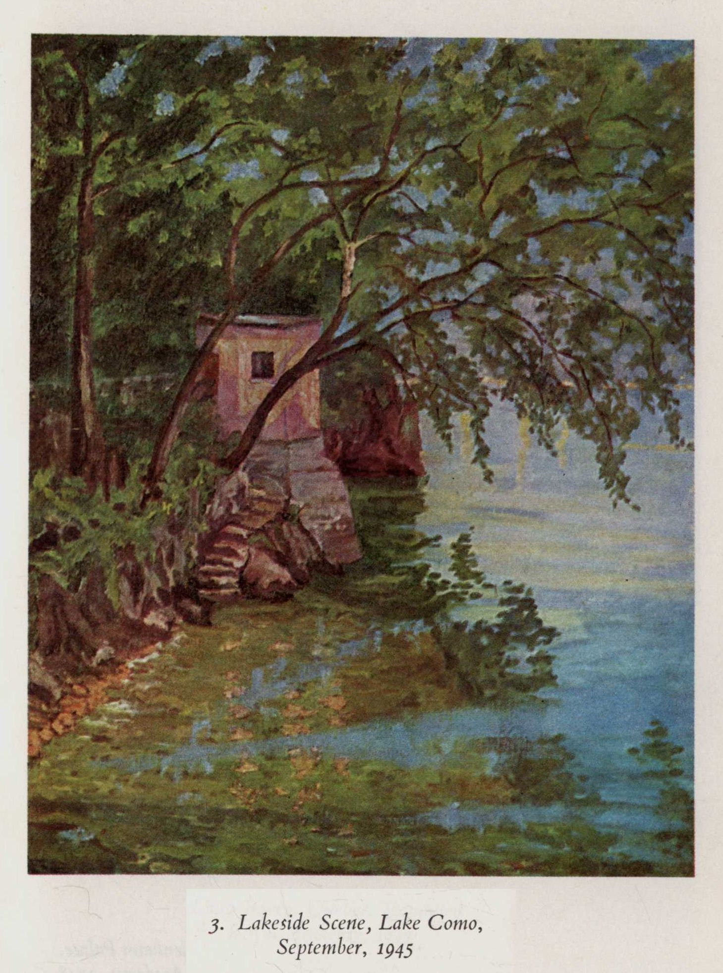 Lakeside Scene, Lakeo