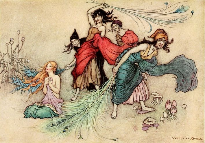 The Fairy Book By Dinah Craik Illustrated By Warwick Goble