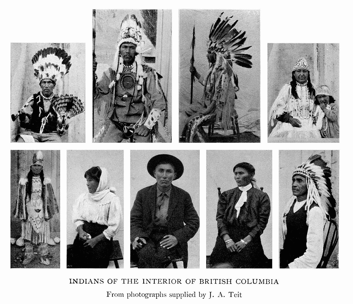 The dawn of canadian history by stephen leacock indians of the interior of british columbia from photographs made by the geological survey of canada fandeluxe Images