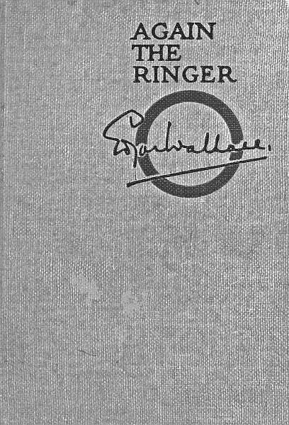 Again the ringer by edgar wallace cover fandeluxe Images
